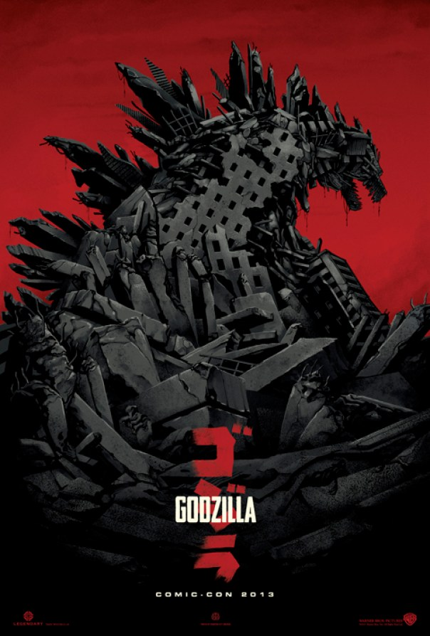 Godzilla poster 1