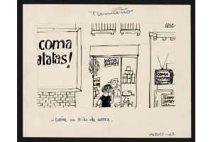La Biblioteca de Catalunya pone en la Red los dibujos originales de Cesc