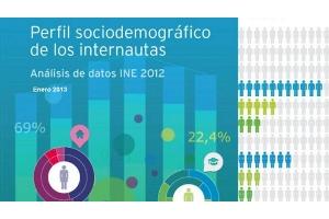 """ONTSI presenta el informe """"Perfil sociodemográfico de los internautas. Análisis de datos INE 2012"""""""