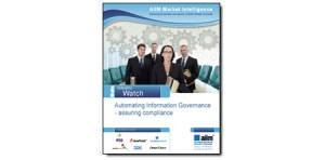 La automatización del gobierno de la información