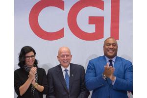 CGI celebra su 40 aniversario en la Bolsa de Nueva York