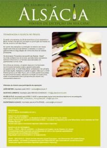 Primeira fotogarfia publicada no artigo Encontros da Excelência Alsácia – Brasil promovem jantares harmonizados no Rio e em São Paulo