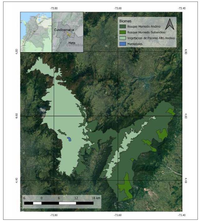 Proyectando El Impacto Del Cambio Climatico Sobre La Avifauna De Areas Protegidas El Caso Del Parque Nacional Natural Chingaza Colombia Revista Yuam Com
