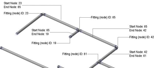 Populate Node Identifiers to Pipework Using Dynamo | REVIT AU