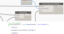From Dynamo to C# – Get and Set Parameters