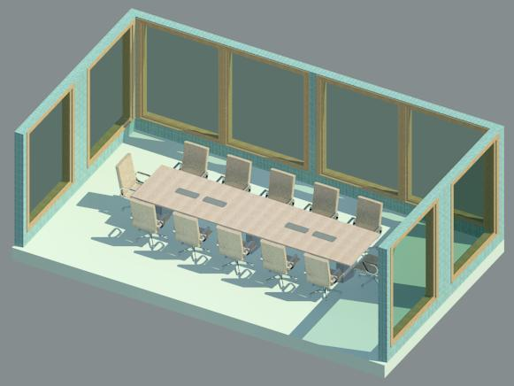 Revit City Conference Table