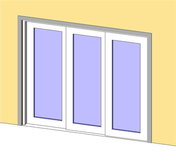 icu sliding door 3 panel sx sx so