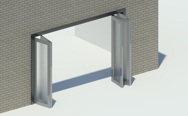Parametric folding door