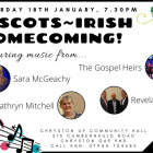 REVIVAL presents this Saturday: Scots~Irish Homecoming Concert