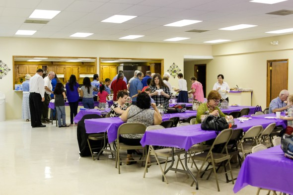 We are thankful we had the opportunity to share our ministry with THREE churches last week. We enjoyed an authentic Mexican Fiesta during the mission conference at one of the churches.