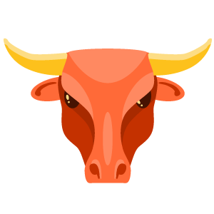 positive and negative zodiac signs - Taurus