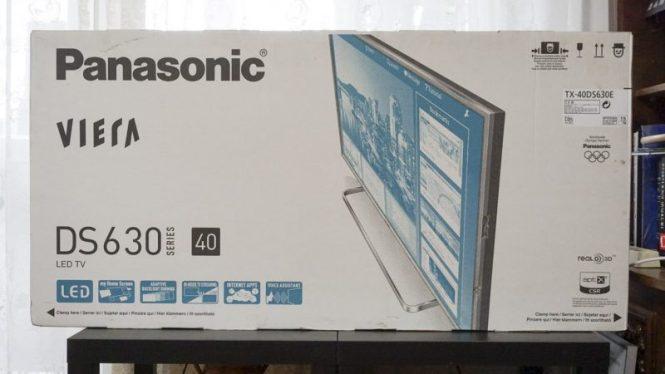 ambalaj Panasonic Viera TX-40DS630E