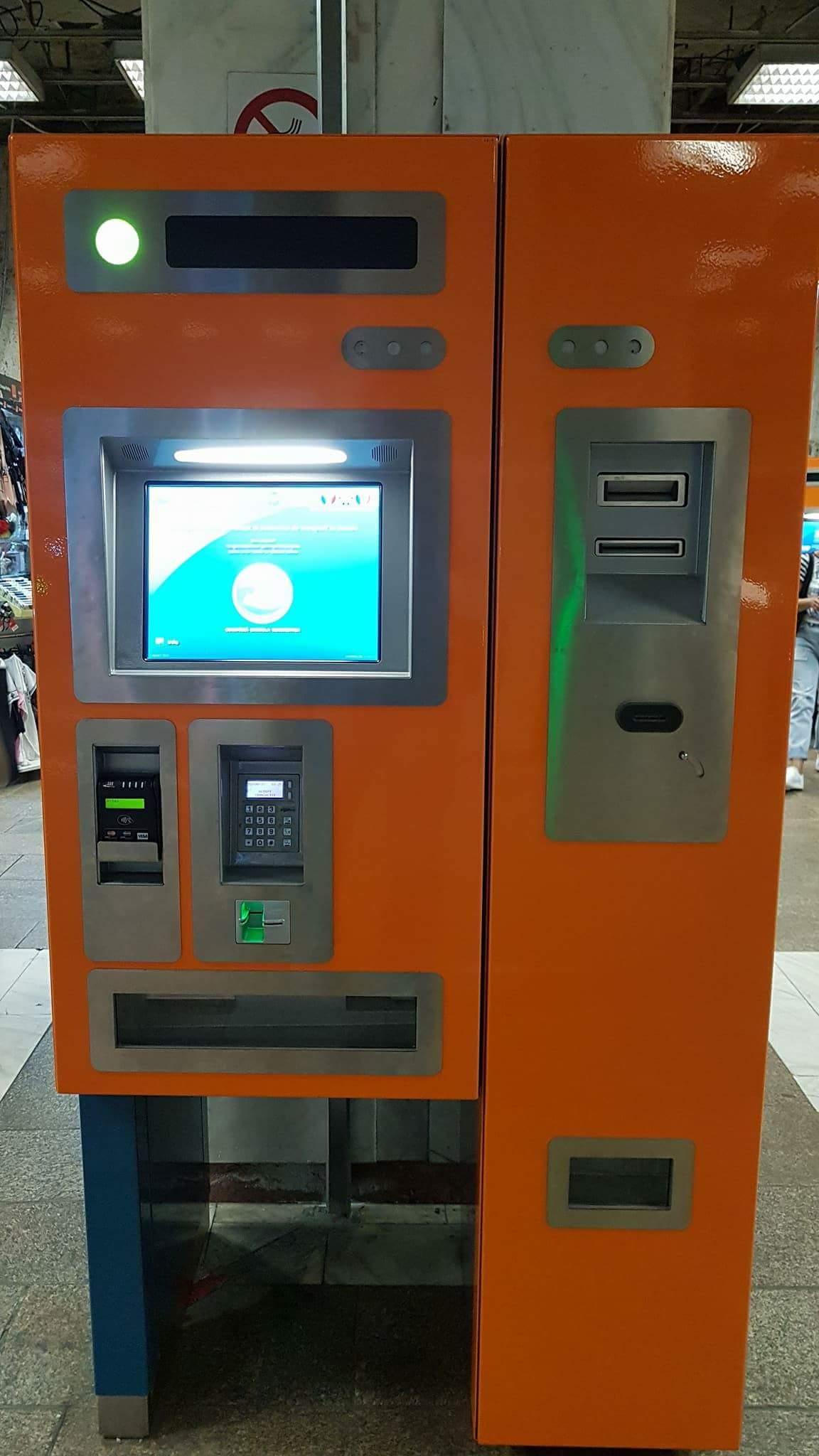 Metrorex are automate noi de cartele. Iar eu am reușit să blochez unul deja