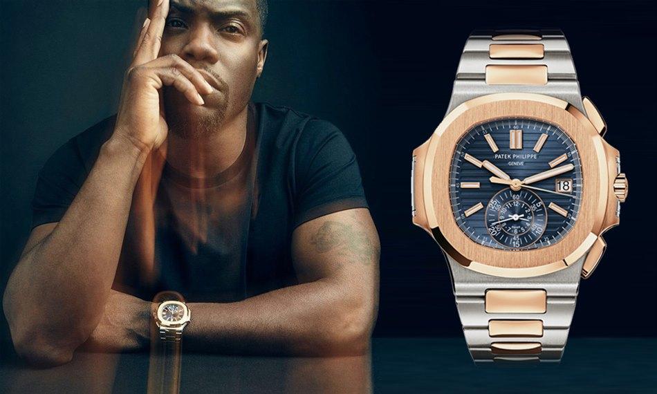 Câteva ceasuri din colecția lui Kevin Hart