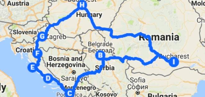 Eurotrip: Serbia, Croația și Ungaria