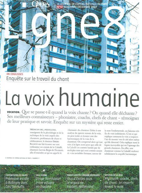Journal Opéra De Paris Docteur Erkki Bianco Revoice
