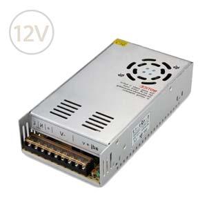 Prachuvzdorný napájací zdroj pre LED pásy 12V / 400W / IP20