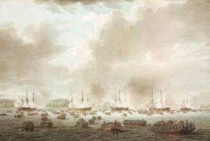 British Forces Landing at Kip's Bay
