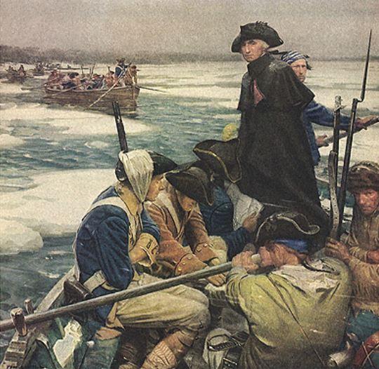 Washington Crossing Delaware 1