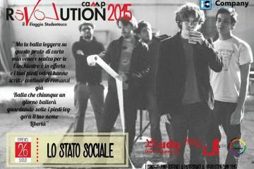 Revolution Rock - Lo Stato Sociale - Revolution Camp 2015