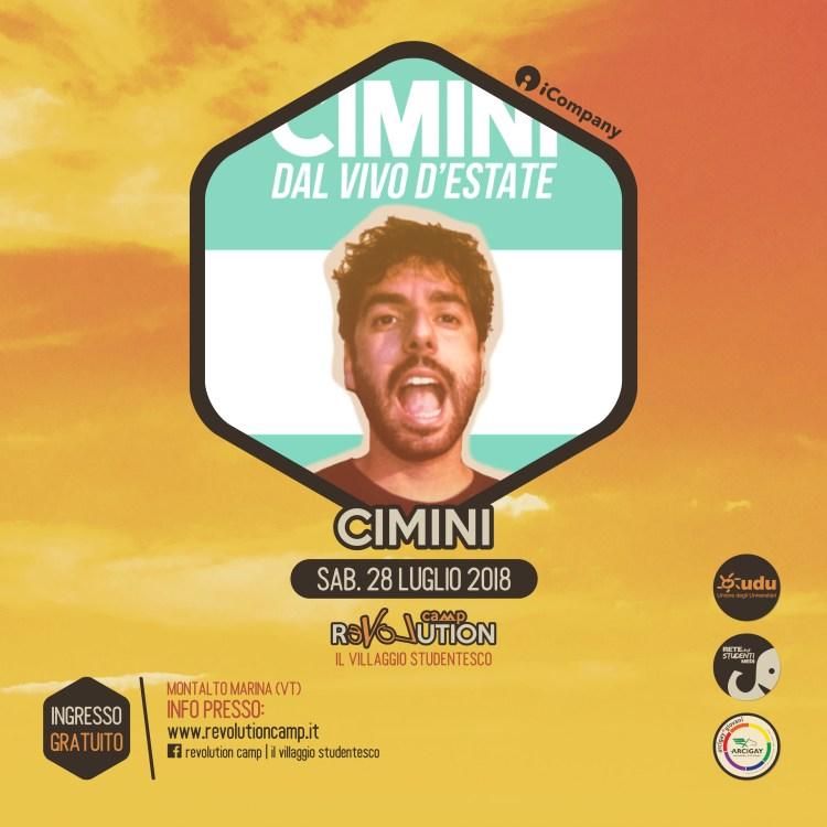 Cimini - Revolution Camp 2018