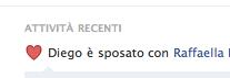 Diego Altobelli, Raffaella Di Lorenzo, Matrimonio, Facebook
