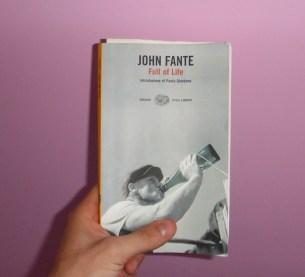 John Fante, Full of Life, Cover, Diego Altobelli, Revolutionine