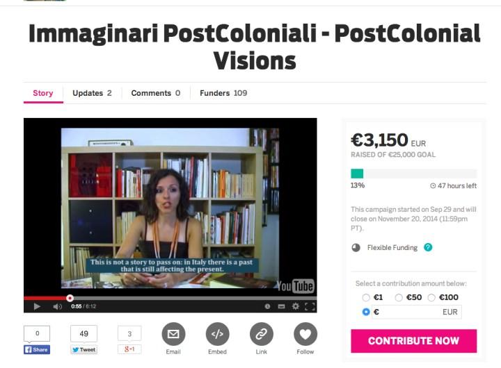 Immaginari post coloniali, Giulia Grechi, Viviana Gravano