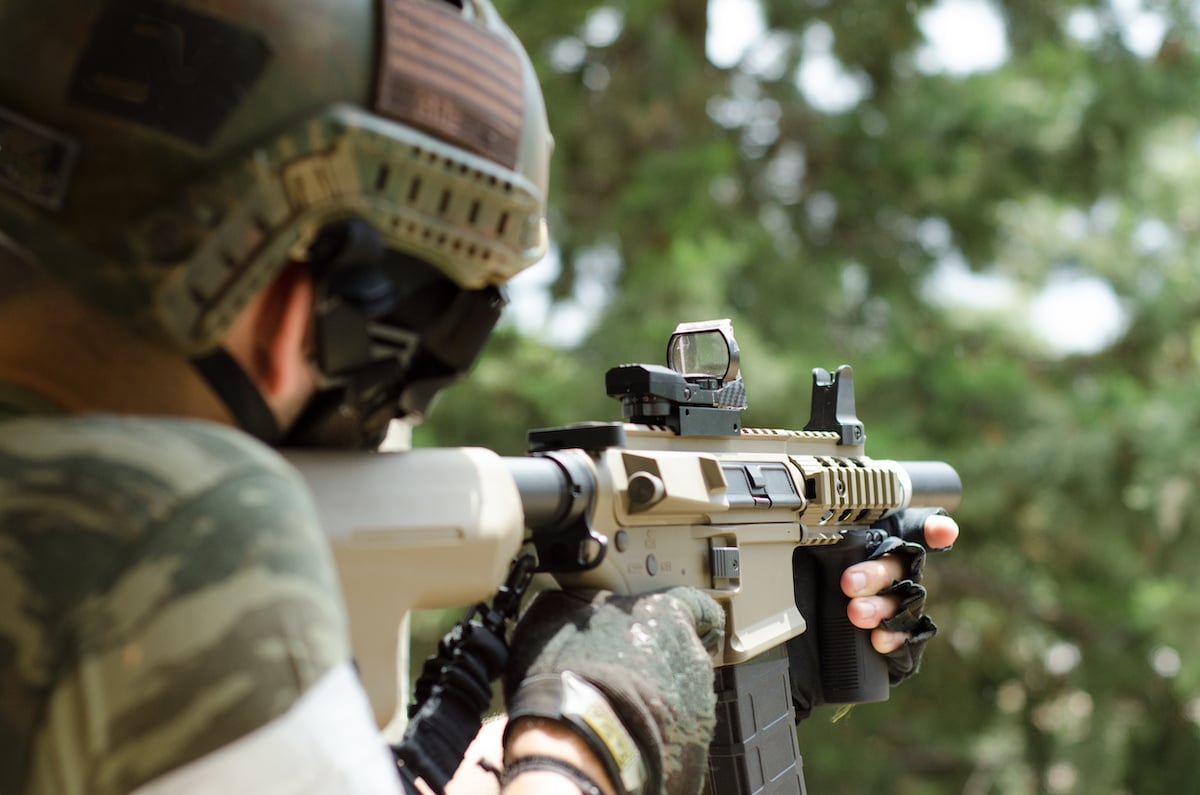 Red Dot Sight Like Military Use