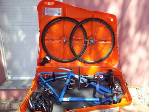 Our Bikebox Alan errm... Bike box. Awesome.