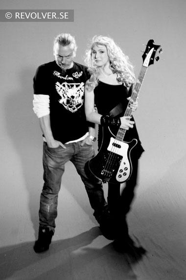 director Patric Ullaeus & Heini of INDICA