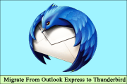 migrate from Outlook express to thunderbird