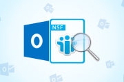 open NSF file without Lotus Notes in Outlook