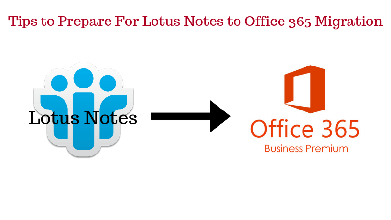 Tips to Prepare For Lotus Notes to Office 365 Migration
