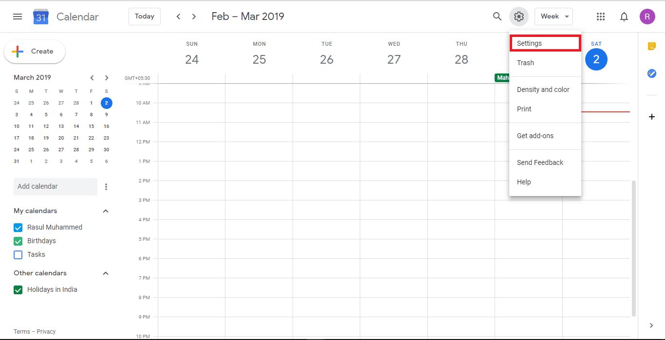 lotus notes calendar to google