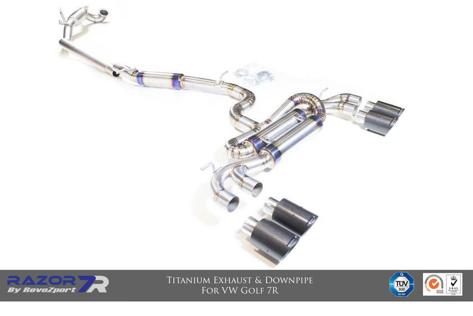 Razor 7r Titanium Exhaust System Revozport