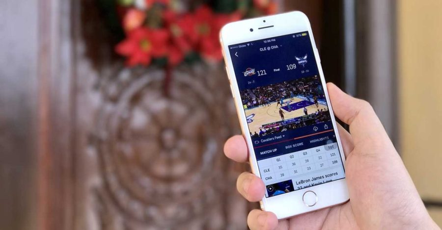 NBA app now lets you save games for offline viewing   rev     Downloading of games possible with NBA app a