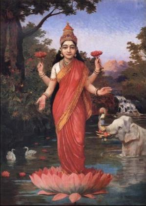 Déesse Lakshmi, déesse de la prospérité et de l'abondance