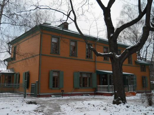 Maison de Leon Tolstoï à Moscou