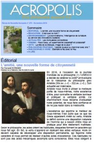 Revue Acropolis n°279