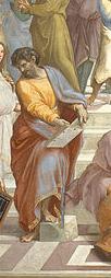 """« Selon le mot d'Homère, je trouve que Parménide est à la fois """"vénérable et redoutable""""."""