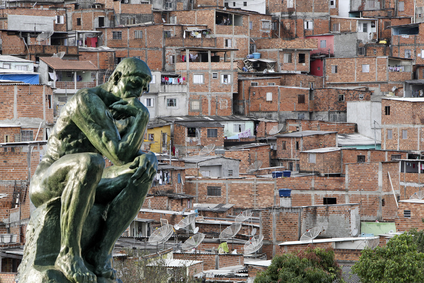 Près d'un milliard de citadins vivent dans des bidonvilles, soit un habitant sur sept et demi dans le monde