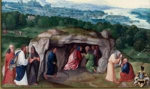 La galette des rois est associée à l'adoration de Jésus enfant par les rois mages.