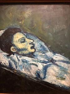 Casagemas dans son cercueil