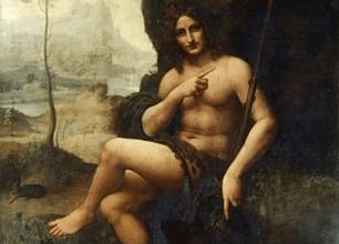 Bacchus ou Saint Jean-Baptiste, 1510-1515, musé du Louvre