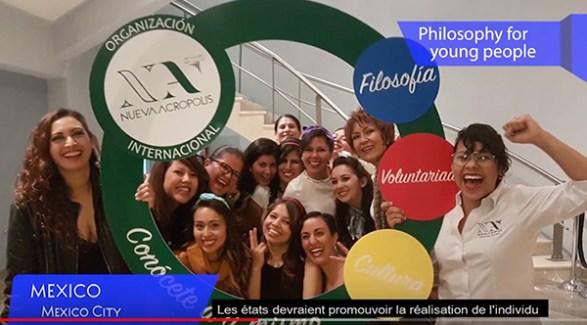 Nouvelle Acropole renouvelle sont engagement en faveur d'une formation de la jeunesse axée sur le respect, la solidarité et le partage des responsabilités, et guidée par les principes philosophiques et éthiques