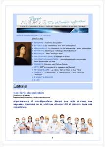 Revue Acropolis n°317