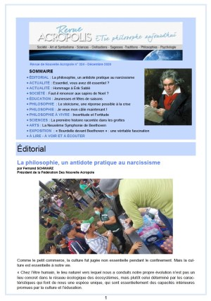 Revue Acropolis n°324