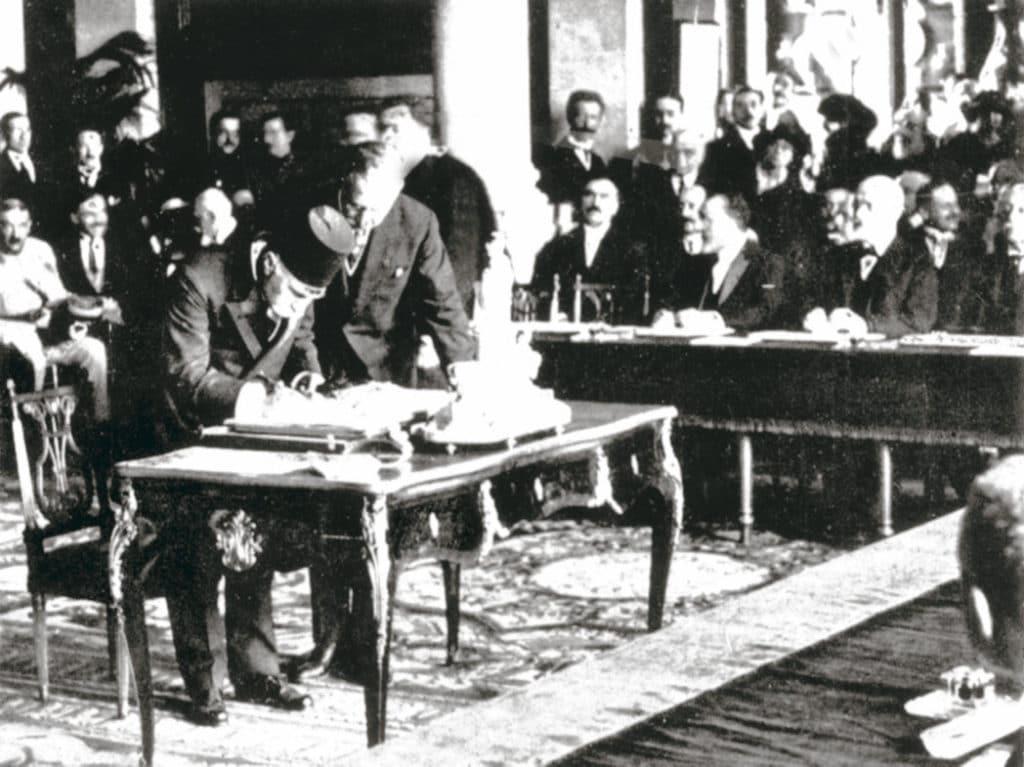 Le traité de Sèvres : de la Turquie à l'Arménie