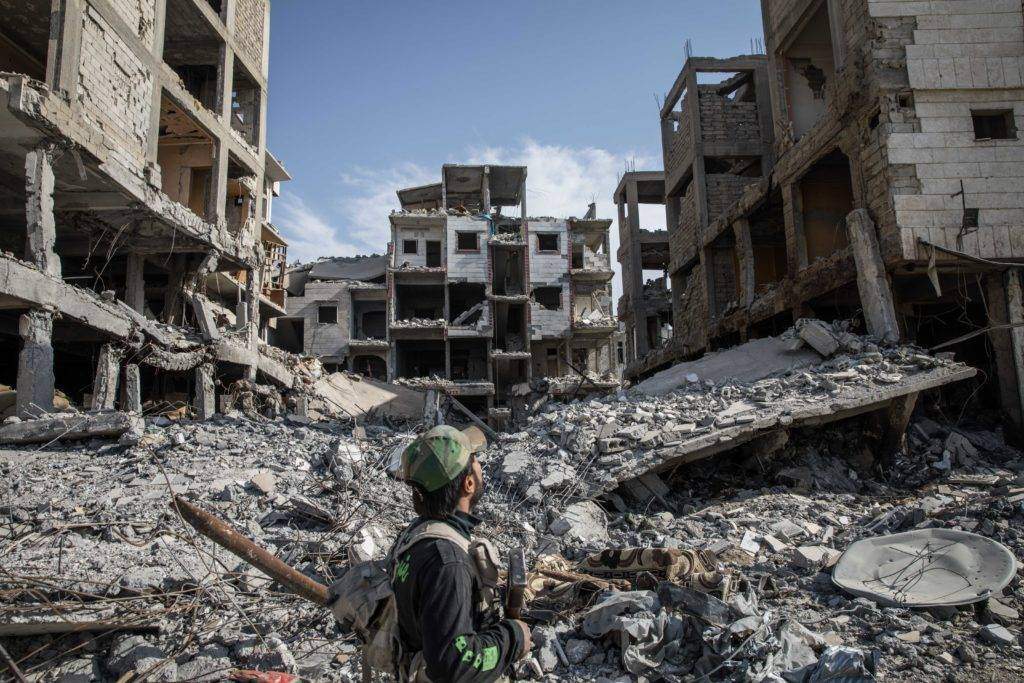 La responsabilité partagée des crimes de guerre en Syrie